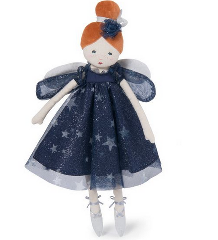 Moulin Roty Céleste Fairy Doll Navy blue
