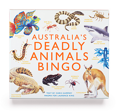 Australia's Deadly Animals Bingo And Other Dangerous Creatures from Down Under