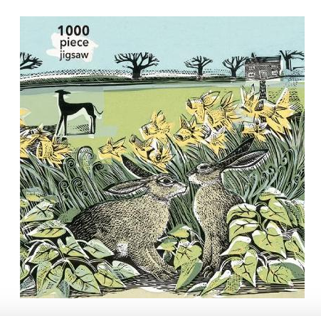 Adult Jigsaw Puzzle Angela Harding: Look Out!: 1000-piece Jigsaw Puzzles