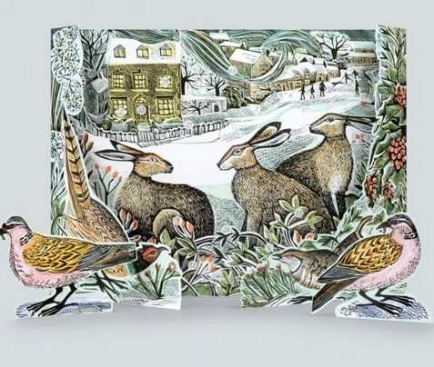 Angela Harding We Three Hares Advent Calendar