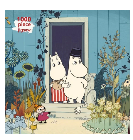 Moomins On The Riviera, Tove Jansson - 1000 Piece Puzzle