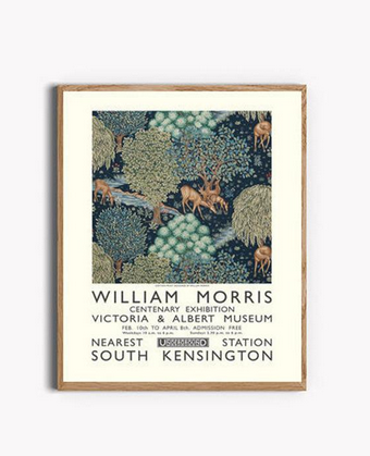 William Morris Print Deer