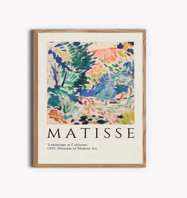 Henri Matisse Abstract Print