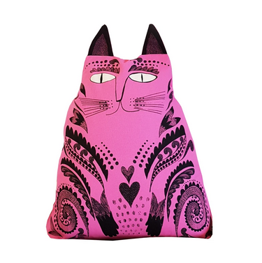 Kitty Cushion Pink