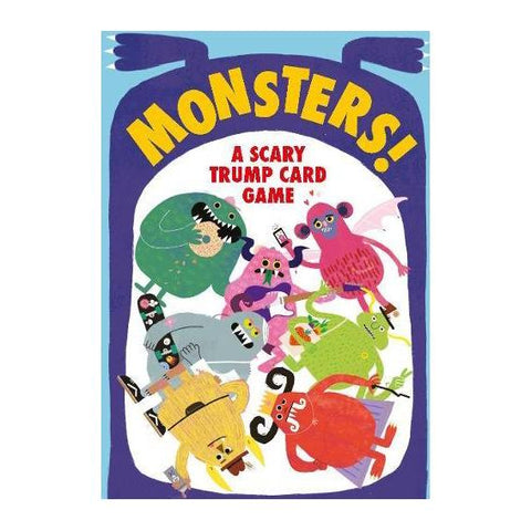 Monsters! A Scary Trump Card Game