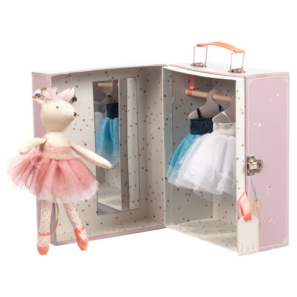 Moulin Roty Soft Mouse & Wardrobe Toy
