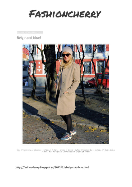 BLOGGER HEDDA SKOUG / FASHION CHERRY