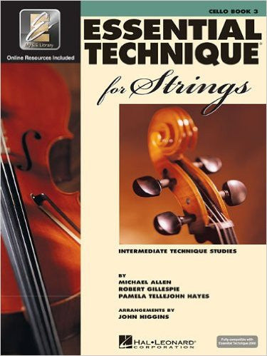 Essential Technique for Strings (Essential Elements Book 3) Cello