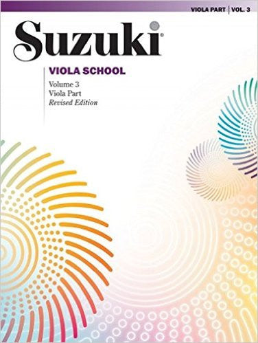 Suzuki Viola School Viola Part & CD, Volume 3 (Revised)