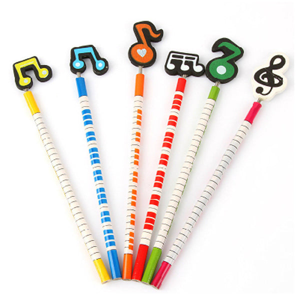Musical Note Pencils