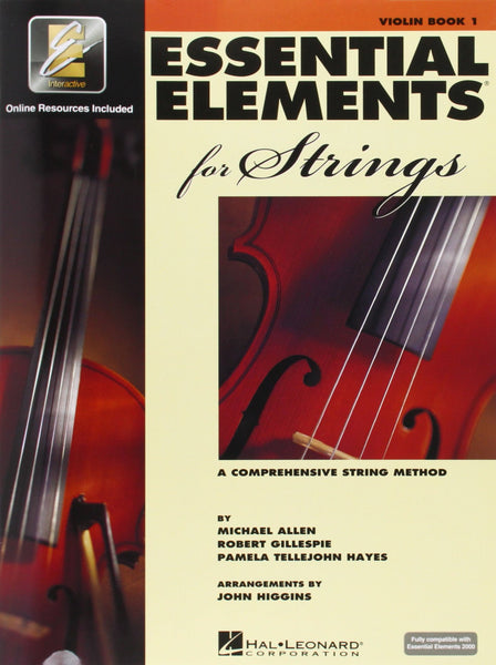 Essential Elements for Strings Book 1- Violin