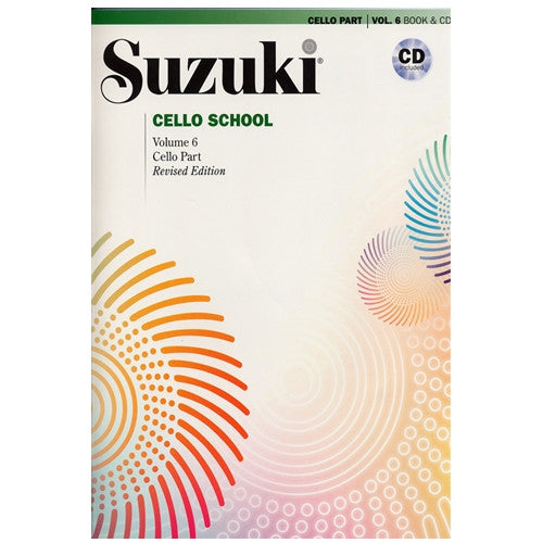 Suzuki Cello School Cello Part & CD, Volume 6 (Revised)