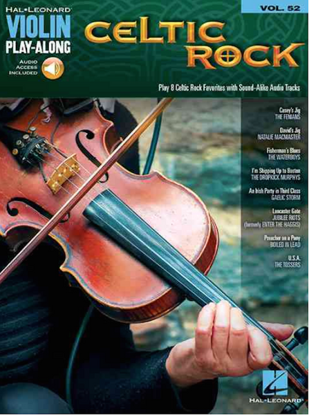 Celtic Rock- Violin Play-Along Songbook