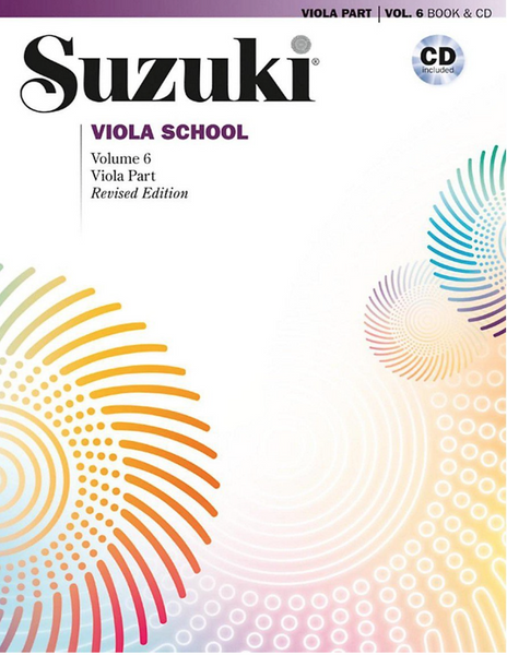 Suzuki Viola School Viola Part & CD, Volume 6 (Revised)