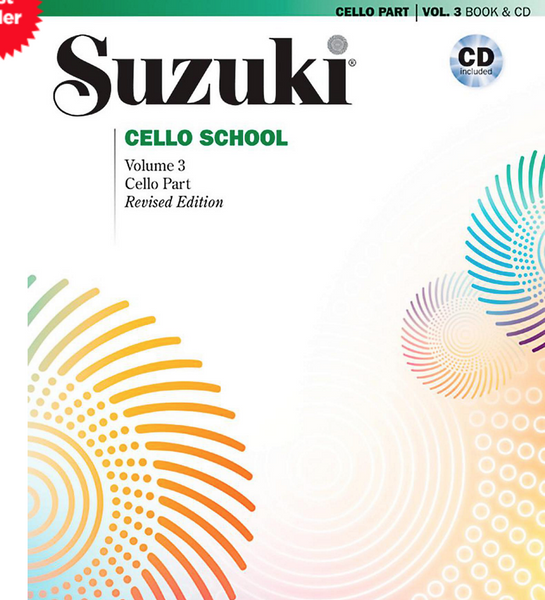 Suzuki Cello School Cello Part & CD, Volume 3 (Revised)