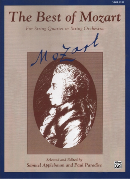 The Best of Mozart- 2nd Violin