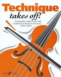 Technique Takes Off! for Violin