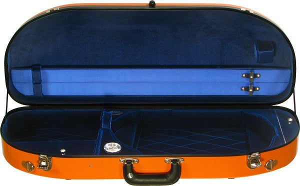 Fiberglass Half Moon Suspension Viola Case