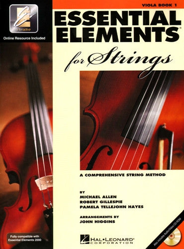 Essential Elements for Strings Book 1- Viola