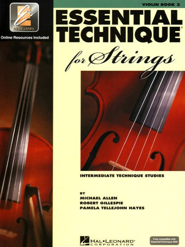Essential Technique for Strings (Essential Elements Book 3) Violin