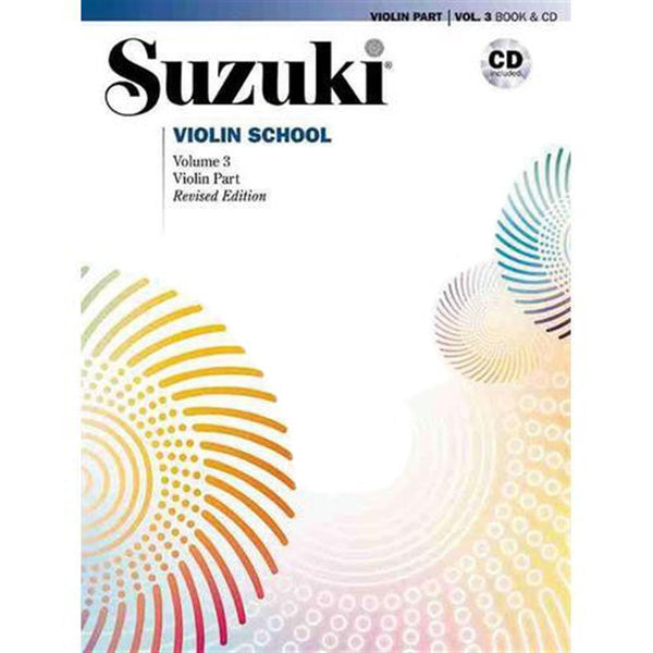 Suzuki Violin School Violin Part & CD, Volume 3 (Revised)