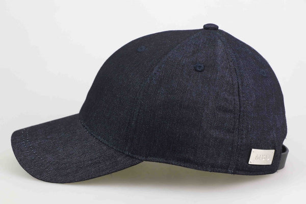 Black Denim Adults Cap