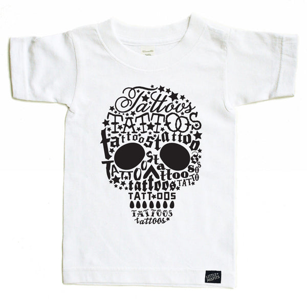 Skull Tatts Onesie and Tee