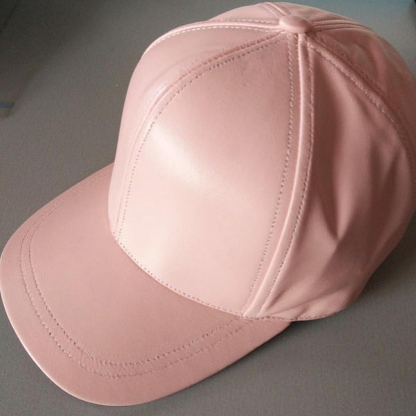 LIMITED ED Blush Luxe Leather Adults Cap