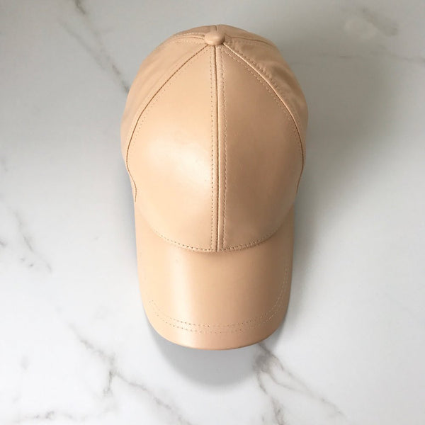 Nearly Nude Adults Leather Cap