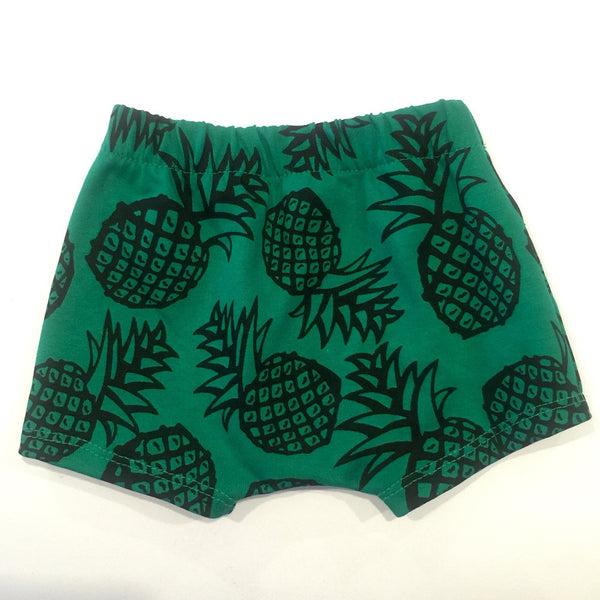 Green Splat Short Shorties