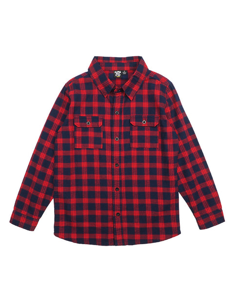 Black Slider Flannel Shirt