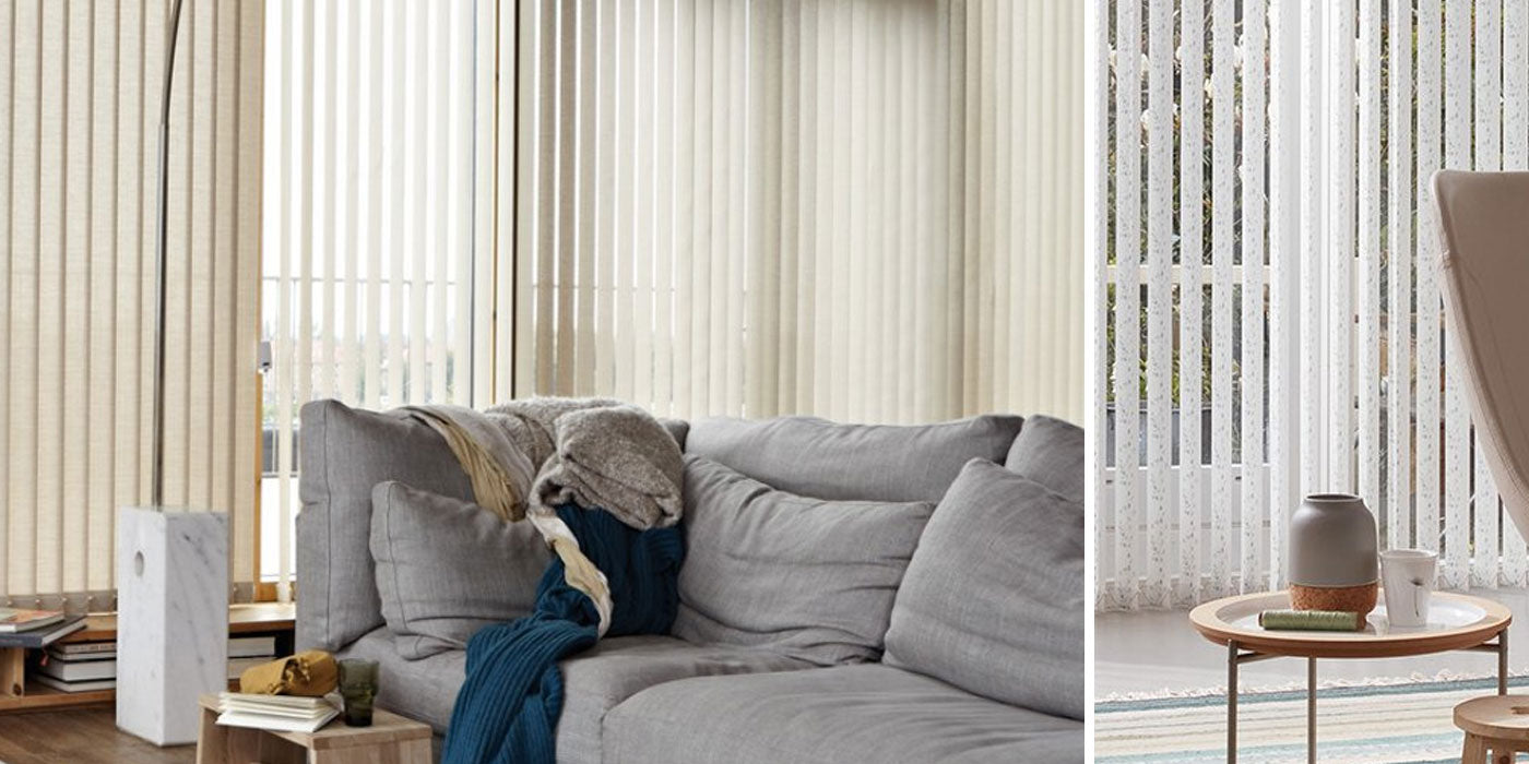 Made to Measure Luxaflex Vertical Blinds