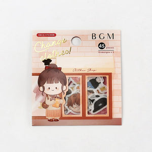 BGM Flake Seal-Change Clothes: Clothes Shop