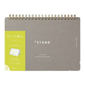 MD +Stand A5 Notebook Blank