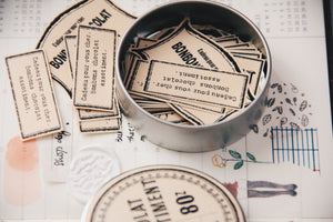 LampxPaperi Tin of Labels