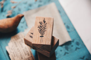 Labiri Spices Rubber Stamp- Rosemary