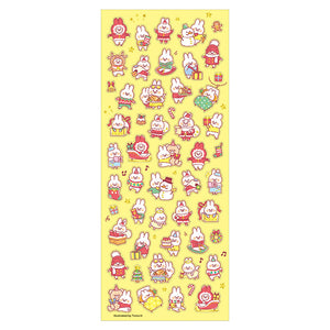 Mindwave Winter Selection Stickers-Santa Rabbit
