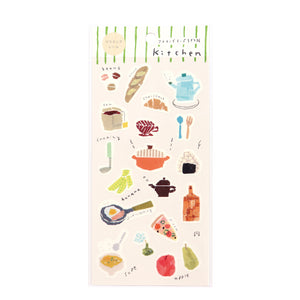 Miki Tamura Kitchen Washi Stickers