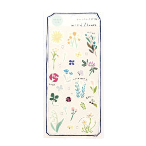 Miki Tamura Wildflower Washi Stickers