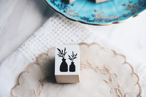 Ncnc Original Japanese Olive Leaf Rubber Stamp