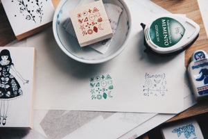 ncnc Original Japanese Rubber Stamp Vol. 2 No. 5