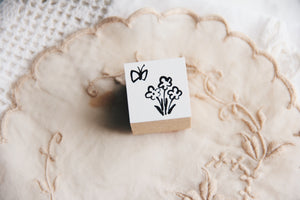 Ncnc Original Japanese Butterfly Rubber Stamp