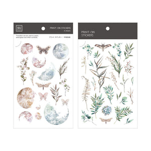 MU Print-On Stickers-066 Lunar Botanicals