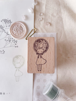 msbulat Bubble Me Up Rubber Stamp