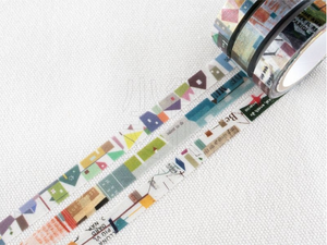 Chamil Garden Season Colour Washi Tape- Byakugun (MTW-CH282)