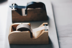 Classiky Wooden Washi Tape Holder - Light Wood