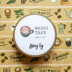 Abbey Sy Coffee Washi Tape