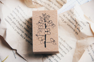 Stempel Jazz Rapeseed Blossom Rubber Stamp