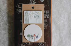 Dried Flower Sticky Notes D