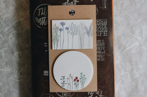 Dried Flower Sticky Notes C